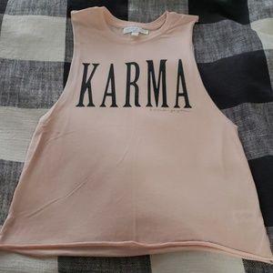 "Spiritual Gangster ""Karma"" Muscle tank"